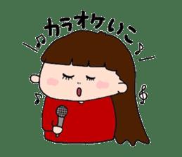 pattsun-girl sticker #1344244