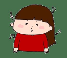 pattsun-girl sticker #1344245