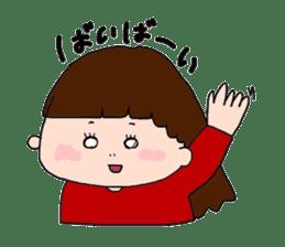 pattsun-girl sticker #1344247