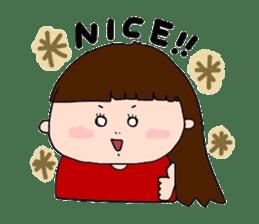 pattsun-girl sticker #1344249