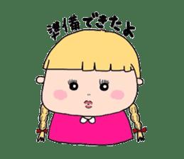 pattsun-girl sticker #1344250