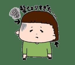 pattsun-girl sticker #1344252