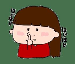 pattsun-girl sticker #1344253