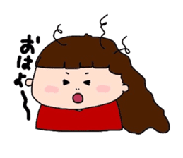 pattsun-girl sticker #1344257