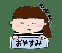 pattsun-girl sticker #1344258