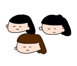 pattsun-girl sticker #1344264