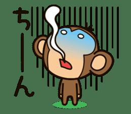 Funny monkey sticker #1345711