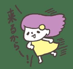 The girl of Kagoshima sticker #1346524