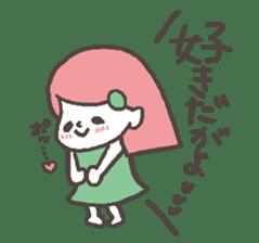 The girl of Kagoshima sticker #1346558
