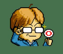 Dot picture salaryman's KAMATA sticker #1346656