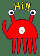 Kenvader 1 (Japanese space pet) sticker #1346962