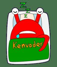 Kenvader 1 (Japanese space pet) sticker #1346968