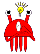 Kenvader 1 (Japanese space pet) sticker #1346990