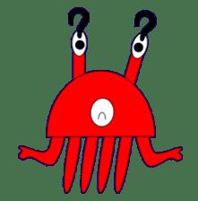 Kenvader 1 (Japanese space pet) sticker #1346993