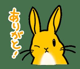 bunny! sticker #1347324