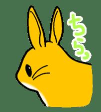bunny! sticker #1347325