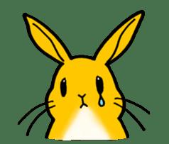 bunny! sticker #1347327