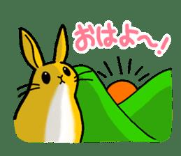 bunny! sticker #1347338
