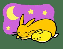 bunny! sticker #1347339