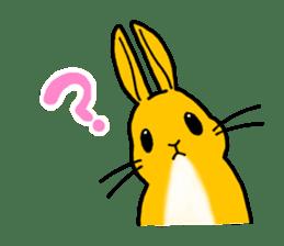 bunny! sticker #1347342