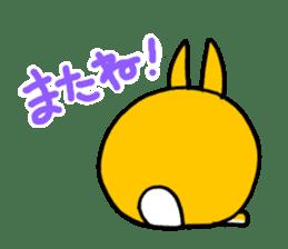 bunny! sticker #1347343