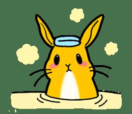 bunny! sticker #1347344