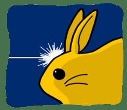 bunny! sticker #1347345