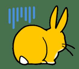 bunny! sticker #1347346