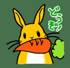 bunny! sticker #1347347