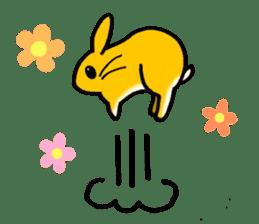 bunny! sticker #1347348