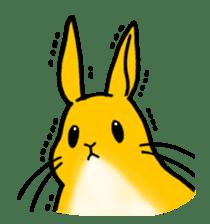 bunny! sticker #1347351