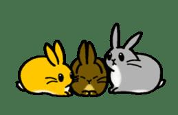 bunny! sticker #1347360