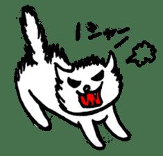 An animal looks like a cat sticker #1347734