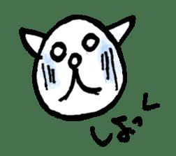 An animal looks like a cat sticker #1347742