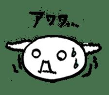 An animal looks like a cat sticker #1347748