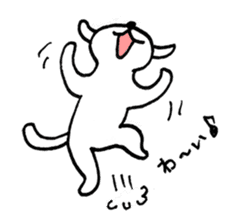 An animal looks like a cat sticker #1347753