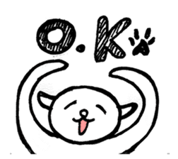 An animal looks like a cat sticker #1347754