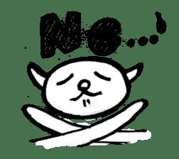 An animal looks like a cat sticker #1347755