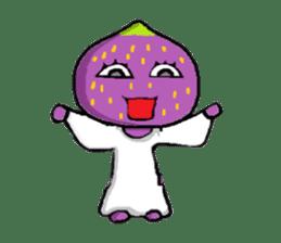 a pleasant fig man sticker #1352243