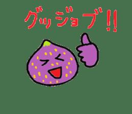 a pleasant fig man sticker #1352247