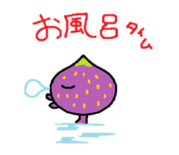 a pleasant fig man sticker #1352251