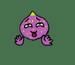 a pleasant fig man sticker #1352257