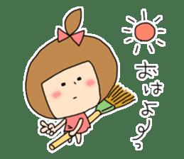 strange lovely girl Heko sticker #1352882