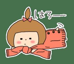 strange lovely girl Heko sticker #1352883