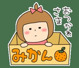 strange lovely girl Heko sticker #1352884
