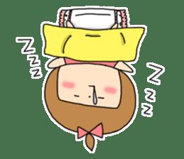 strange lovely girl Heko sticker #1352885