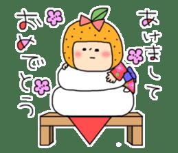 strange lovely girl Heko sticker #1352891