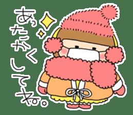 strange lovely girl Heko sticker #1352894