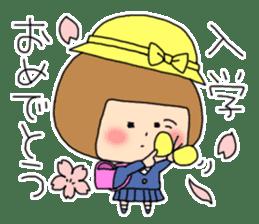 strange lovely girl Heko sticker #1352896