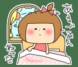 strange lovely girl Heko sticker #1352909